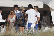 Elsa Hosk - Out for lunch in Spain 6/26/18