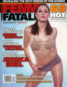 Jessica Biel: November 2003 Femme Fatales Cover