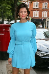 Gemma Arterton - BBC Radio Two Studios in London 7/20/18