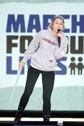 Miley Cyrus - 'March For Our Lives' Rally in Washington, D.C. 3/24/18
