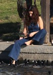 Selena Gomez at Lake Balboa park in Encino 02/02/2018aa8a09737640443