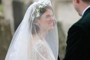Rose Leslie -                           At Her wedding with Kit Harington Aberdeenshire Castle Scotland June 23rd 2018.