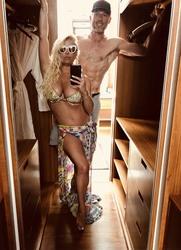 Jessica Simpson in a Bikini Top - 4/30/18 Twitter Pic