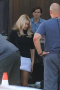 Margot Robbie - On the set of 'Once Upon A Time In Hollywood' 8/7/18