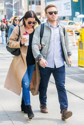 Lea Michele - Out with Fiance in NYC - 05/01/2018