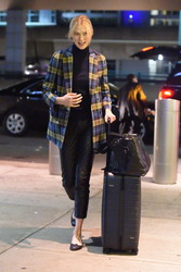 Karlie Kloss - At JFK Airport 2/15/18