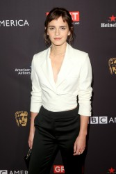 Emma Watson at The BAFTA Los Angeles Tea Party in Los Angeles - 1/6/18