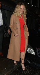 Jennifer Lawrence - Leaving the 'Red Sparrow'  After Party in London 2/19/18