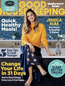 Jessica Alba -                      Good Housekeeping Magazine January 2018.