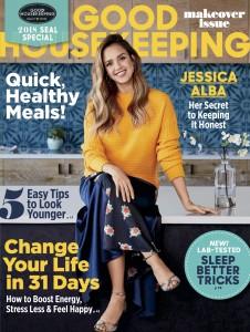 Jessica Alba -                      Good Housekeeping Magazine January 2018.