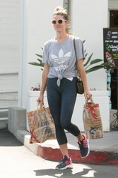 Ashley Greene - Grocery shopping in Beverly Hills 6/4/18