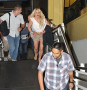 Britney Spears -                         Reagan National Airport Arlington Virginia July 10th 2018.