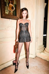 Bella Hadid - Chrome Hearts Party in Paris 9/25/18