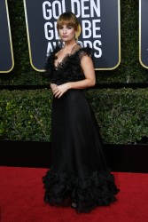 Lily James - 75th Annual Golden Globe Awards in Beverly Hills 1/7/18
