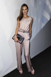 Alessandra Ambrosio - Armani Fashion Show in Milan 9/23/18
