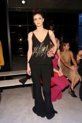 Alexandra Daddario - Cushnie Et Ochs Fashion Show in NYC 2/9/18