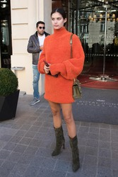 Sara Sampaio - Out in Paris 9/26/2018 3c0fe9985878014