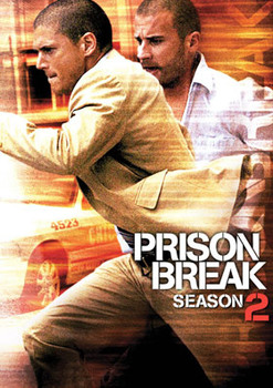 Prison Break - Stagione 2 (2006-2007) 6xDVD9 Copia 1:1 ITA-ENG