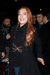 Lindsay Lohan - Out in London 2/19/18