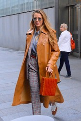 Blake Lively - Leaving her hotel in NYC 9/12/18