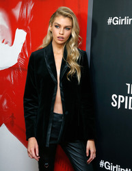 "Stella Maxwell - ""The Girl In The Spider's Web"" screening, New York City,, 11/4/2018"