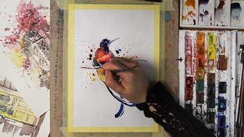 Акварельные иллюстрации. Базовый курс (2018) Видеокурс