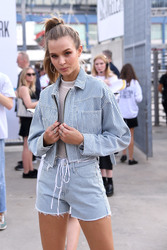Josephine Skriver - John Elliot Fashion Show in NYC 9/6/18