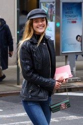 Nina Agdal - Out in NYC 3/22/19