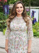 Kelly Brook -                      Chelsea Flower Show Press Day London May 21st 2018.