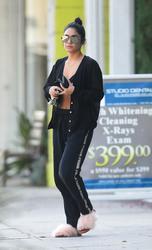 Vanessa Hudgens - Leaving pilates class in LA 9/20/18