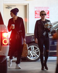 Ashley Benson & Cara Delevingne - Out in LA 11/5/18