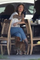 Minka Kelly - Having lunch in LA 7/3/18