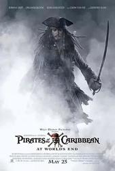 加勒比海盗3:世界的尽头 Pirates of the Caribbean: At World's End_海报
