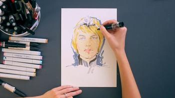 Техники и стили иллюстрации (2019) Видеокурс