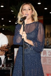 Ashley Tisdale -Performing at Fashion Go's Opening Night Happy Hour in Las Vegas 2/5/19