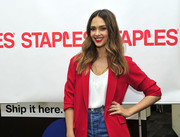 Jessica Alba - Staples for Students sweepstakes event in NYC 10/29/2018 cf56db1016104654