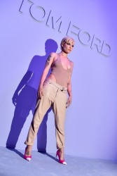 Halsey - Tom Ford Menswear Fashion Show in NYC 2/6/18