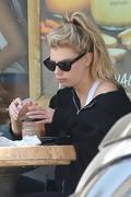 Charlotte McKinney - Having lunch in Beverly Hills 6/7/18