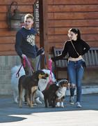Ariel Winter - Leaving a animal hospital in LA 12/30/18