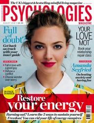 Amanda Seyfried -                  Psychologies Magazine (UK) August (2018).