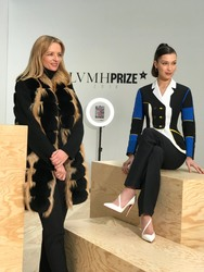 Bella Hadid - LVMH Prize Event in Paris 3/1/18