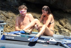 Camila Morrone - Bikini candids in Italy 8/5/18