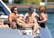 Gigi Hadid - Bikini candids on a yacht in Miami 11/25/18