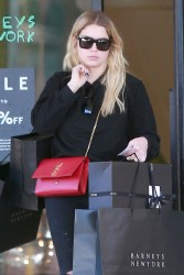 Ashley Benson Shopping at Barneys New York in Beverly Hills - 12/24/17
