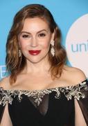 Alyssa Milano - 14th Annual UNICEF Snowflake Ball in NYC 11/27/18
