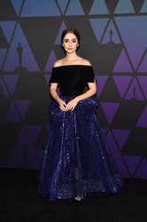 Lily Collins - 10th Annual Governors Awards in Hollywood 11/18/18