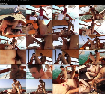 Maxx Fitch Barebacking Andrew Collins in a Boat Trip 2018-12-10