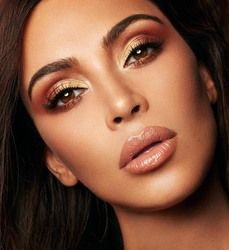 Kim Kardashian - KKW Beauty x Mario Collab Photoshoot