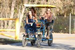 Selena Gomez at Lake Balboa park in Encino 02/02/20189586dd737644883
