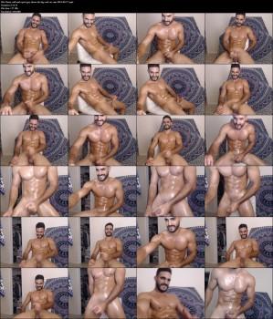 Rami, str8 arab sport guy shows his big cock on cam 2019-06-17